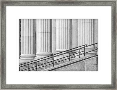 Symmetry Framed Print by Susan Candelario