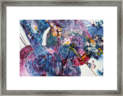 Symphony - Eight Framed Print by Mudrow S