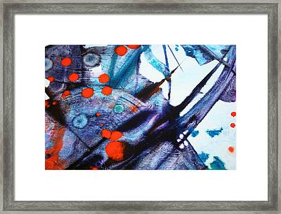 Symphony - Four Framed Print by Mudrow S