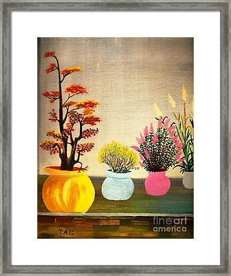 Symphony Of Color Framed Print