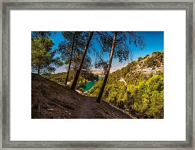 Symphony Of Nature. El Chorro. Spain Framed Print by Jenny Rainbow