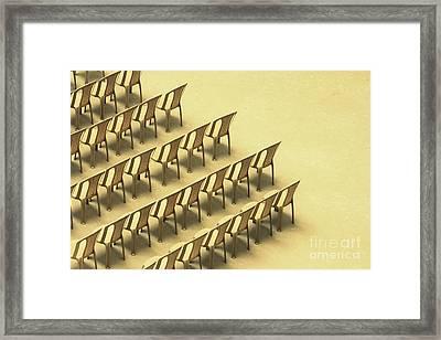 Symphony Framed Print by Vishakha Bhagat