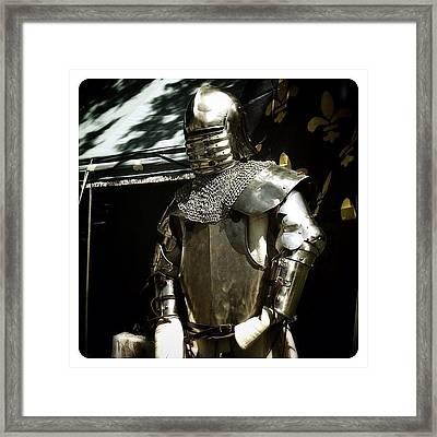 Syttende Mai Suit Of Armor Framed Print