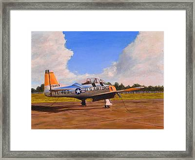 T 28 At Spence Ab Georgia Framed Print