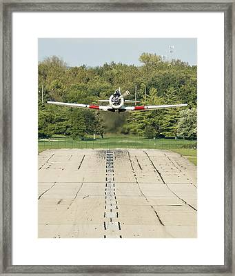 T-6 Take Off  Framed Print