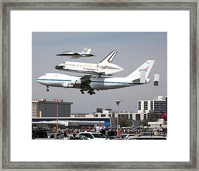 Framed Print featuring the photograph T-minus 10 Seconds... by Alex Esguerra