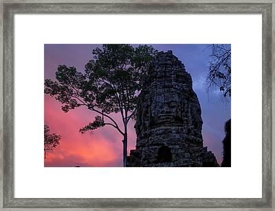 Ta Phrom Framed Print by Dominic Guiver