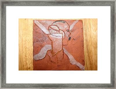 Taata - Tile Framed Print
