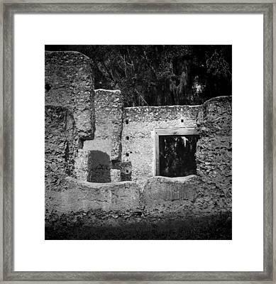 Tabby Ruins Framed Print by Lynn Palmer