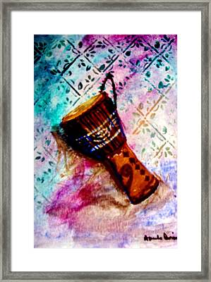 Tabla 2 Framed Print by Amanda Dinan