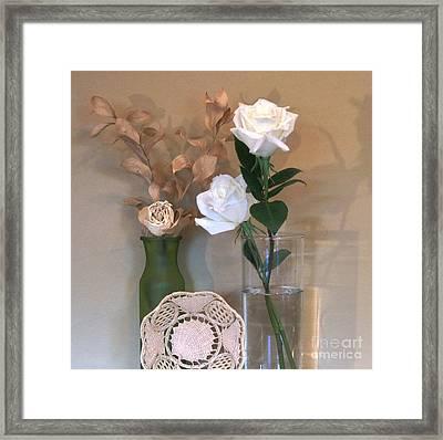 Table Centerpiece Framed Print