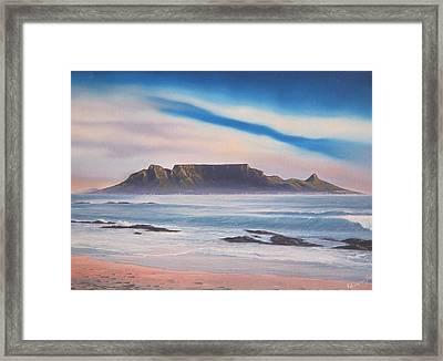 Table Mountain 1 Framed Print by Adrian Van Staden