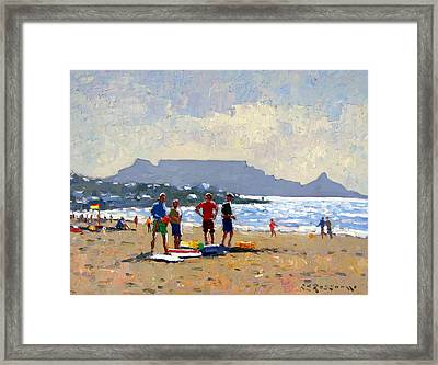 Table Mountain Cape Town Framed Print by Roelof Rossouw