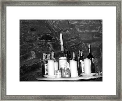 Table Of Spirits Framed Print by Jennifer Sabir