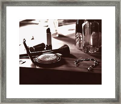 Table Top Framed Print