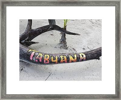 Tabyana Beach Framed Print by Vijay Sharon Govender