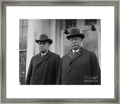 Taft & Butler, 1922 Framed Print