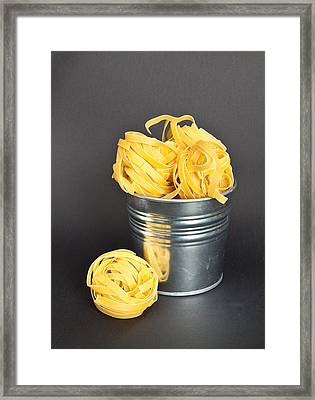 Tagliatelle Framed Print by Tom Gowanlock