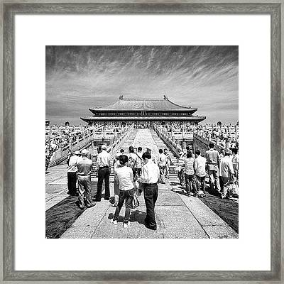 #tagstagram #instahub #instagood Framed Print by Tommy Tjahjono