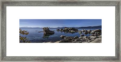 Tahoe Clarity Framed Print by Brad Scott