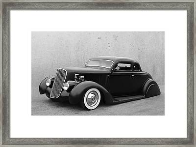 Tail Dragger Framed Print by Bill Dutting