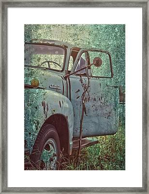 Tailgate Date  Framed Print