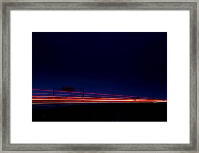 Taillights  Framed Print by Cale Best