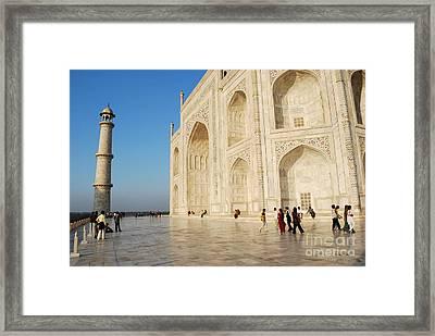 Taj Mahal Framed Print by Jen Bodendorfer