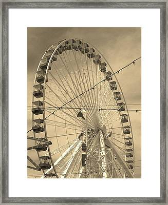 Take A Ride With Me Framed Print