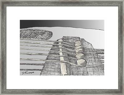 Take It To The Bridge Framed Print