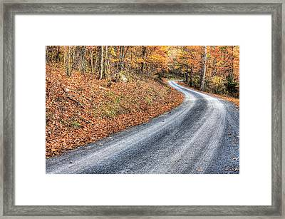 Take Me Home Country Roads Framed Print