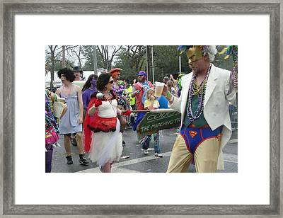 Take Me To The Mardi Gras Framed Print by Rdr Creative