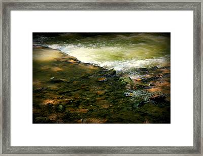 Beautiful River Framed Print by Karen Wiles