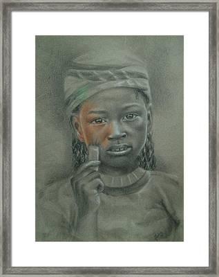 Take My Color Framed Print by Joanna Gates