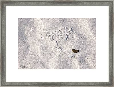 Take My Heart  It Is For You Framed Print