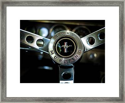 Take The Reins Framed Print by Douglas Pittman