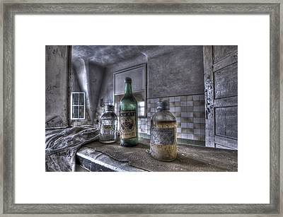 Take Your Soviet Medicine Framed Print by Nathan Wright
