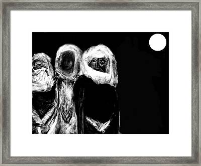 Framed Print featuring the digital art Taken by Rc Rcd