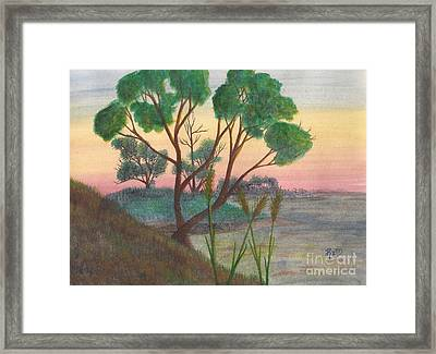 Taking A Moment... Framed Print