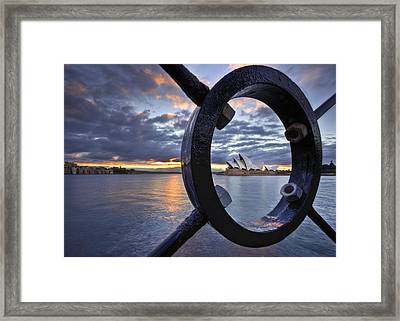 Taking Centre Stage Framed Print by Renee Doyle
