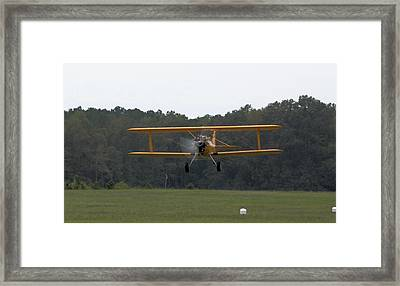 Taking Flight Framed Print by