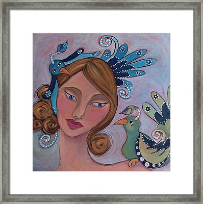 Taking Flight Framed Print by Suzanne Drolet