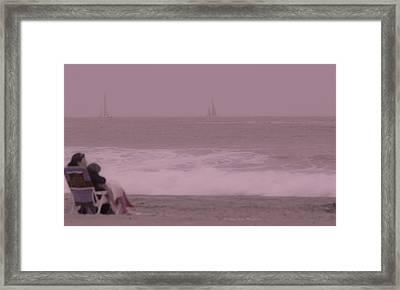 Taking Time Framed Print
