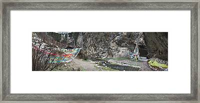 Taktsang Lhamo Path Framed Print by Phil Borges