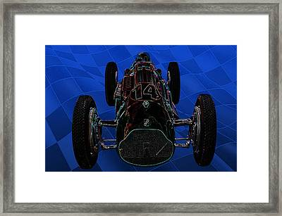 Talbot Lago T26c Body 110054 Framed Print by Mike  Capone