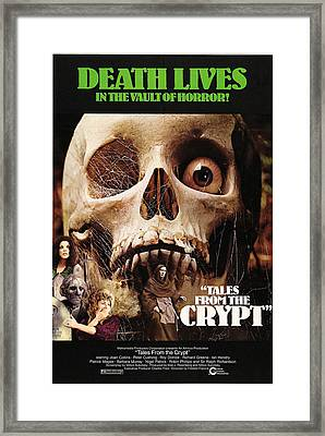 Tales From The Crypt, On Left From Top Framed Print by Everett