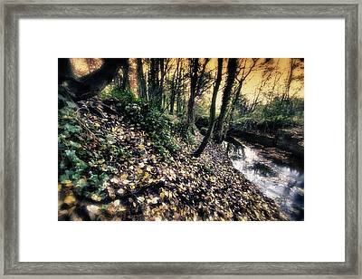 Tales From The Riverbank...a Childhood Remembered Framed Print by Russell Styles