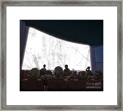 Tales Of The Streets 2 Framed Print