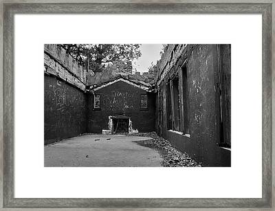 Talking Walls Framed Print