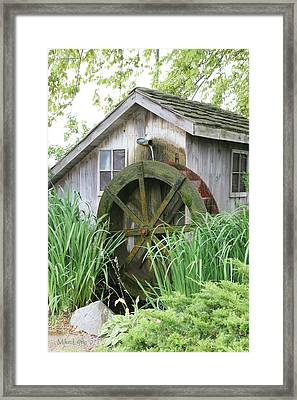Tall Grass At The Mill Framed Print by Mike Lytle